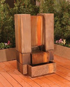 Free Shipping and No Sales Tax on the Guillotine Garden Water Fountain from Outdoor Fountain Pros.