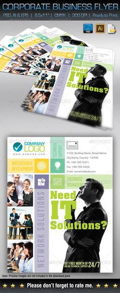 corporate business flyer corporate flyers