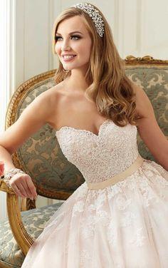6098 Tulle Princess Style Wedding Dress by Stella York