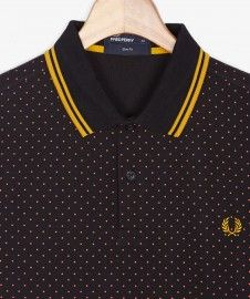 Polka Dot Hem Shirt FW14/15 - Fred Perry