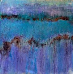 """Original art for sale at UGallery.com   Dusk by Pat Forbes   $475   acrylic painting   24"""" h x 24"""" w   http://www.ugallery.com/acrylic-painting-dusk"""