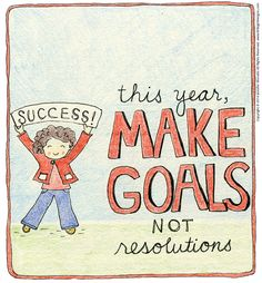 This year, make goals instead of resolutions. I will show you three ways that helped me make the switch and enjoy the results I had been chasing after.