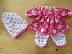 Puppenkleidung-Niedliches-Outfit-fuer-Baby-Annabell