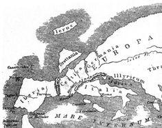 Mapa de Europa según la descripción de Estrabón