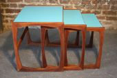 23 Chairs - Upcycled Restored Retro Vintage Furniture - Upcycled G Plan Nest Tables Retro Furniture, Upcycled Furniture, Modern Retro, Retro Vintage, Painted Tables, Upcycling Ideas, Cellar, Interior Inspiration, Living Area