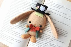 PDF Pattern Felt March Hare Plush by typingwithtea on Etsy