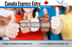 Get quick consultation for canada express entry 2015 by Immigration Overseas.