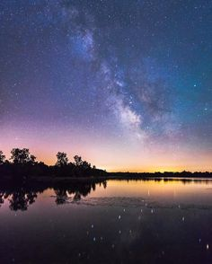 Starry nights in Pure Michigan are hard to beat! Photo from IG (at)jordanbrenke in Clayton.