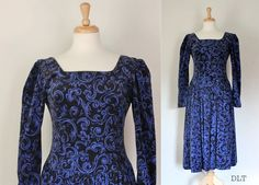 80s Dress / Vintage Laura Ashley / Cotton by DuncanLovesTess, $88.00