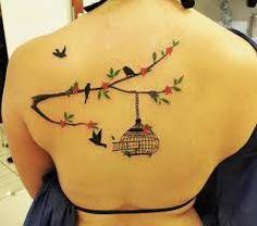 tatoo de passaros
