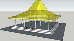 Rumah Jawa - Joglo Wantah Apitan - 3D Warehouse
