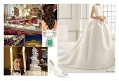 """""""The Wedding Reception of The Prince and Princess of Orange"""" by pompcircumstance ❤ liked on Polyvore featuring Blue Nile, BERRICLE, Chaumet and Manolo Blahnik"""