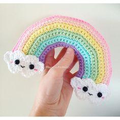 Mesmerizing Crochet an Amigurumi Rabbit Ideas. Lovely Crochet an Amigurumi Rabbit Ideas. Rainbow Crochet, Love Crochet, Crochet Motif, Double Crochet, Single Crochet, Crochet Patterns, Crochet Amigurumi, Amigurumi Patterns, Crochet Toys