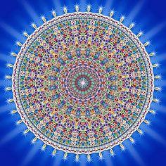 Mandala Círculo Concéntrico de Energía.