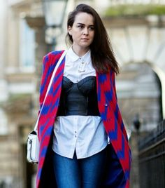 The Latest Street Style Photos From London Fashion Week via Who What Wear 3