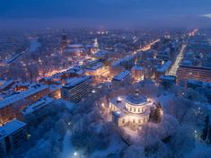 Aerial view of the old observatory building and Turku Cathedral - Jarmo Piironen (@JamoImages) | Twitter