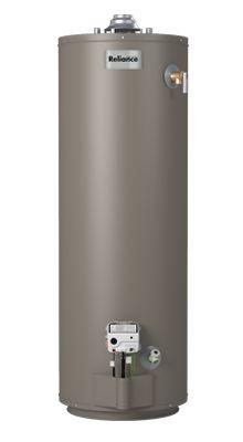 6 40 Nbrbt 40 Gallon Tall Natural Gas Water Heater 6 Year