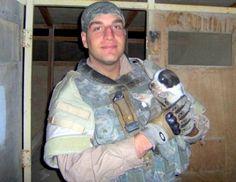 "Iraq ""Hero"" Dog Saved from Fire"