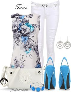 """Spring Floral !"" by martina-16 ❤ liked on Polyvore"