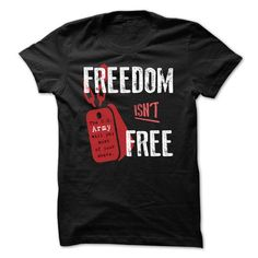 I Love Freedom Isnt Free Shirts & Tees #tee #tshirt #named tshirt #hobbie tshirts #Air