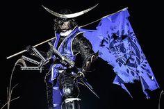 MAKI (茉希) as Masamune Date  of Sengoku Basara 4