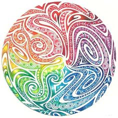 Enthusiastic Artist: Maori spirals
