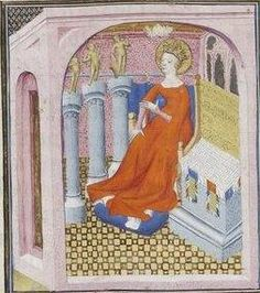 Giovanni Boccaccio, De Claris mulieribus; Paris Bibliothèque nationale de France MSS Français 598; French; 1403, 10v. http://www.europeanaregia.eu/en/manuscripts/paris-bibliotheque-nationale-france-mss-francais-598/en