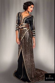 Caftan by Kamalia Creations.
