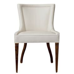 Verona Dining Chair  Traditional, Transitional, MidCentury  Modern, Upholstery  Fabric, Dining Chair by Studio William Hefner