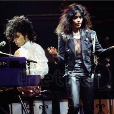 Rare pic of Prince Apollonia Kotero, Purple Rain Tour 1985