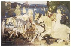 The Riders Of The Sidhe Painting by John Duncan