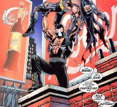 Bane beat Batman going down