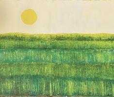 Hills Oil On Canvas, Canvas Art, Original Art, Original Paintings, Irish Landscape, Green Trees, Spring Green, Spring Time, Landscape Paintings