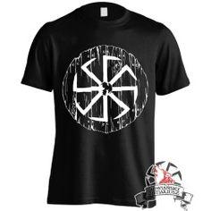 Koszulka Kołowrót Tarcza - Czarna