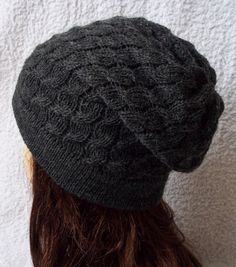 Knitted cable hat beanie for women by accessoriesbyrita on Etsy, $23.00