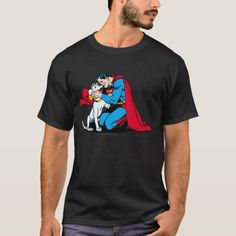 9a5dabb1c69 Superman and Krypto T-Shirt Superman T Shirt