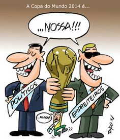 Copa do Mundo, Brasil, 2014.