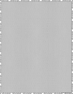 Free Printable Graph Paper For Peyote Stitch Loom Work Right