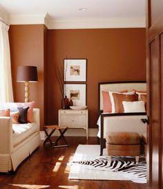 Warm tones for my bedroom