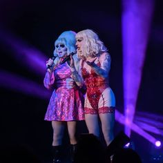 Katya And Trixie Mattel, Best Drag Queens, Rupaul Drag Queen, Katya Zamolodchikova, Girl Scout Badges, Baby Queen, The Vivienne, Love Your Hair, Gal Pal
