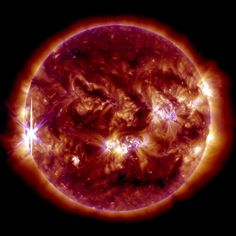 Sun Emits Third Solar Flare in 2 Days