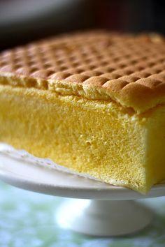 Jane's Corner: 香草相思蛋糕 vainilla oil sponge cake