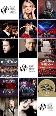 Concerts de la segona quinzena de març 2016 al Palau de la Música Catalana (Barcelona)
