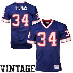 Thurman Thomas Buffalo Bills Mitchell   Ness Retired Player Vintage Replica  Jersey - Royal Blue. Nfl Jerseys For SaleFootball ... 4a9392196f8