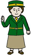 """Flat"" Juliette Gordon Low!   Printable doll with outfit and journal pages"