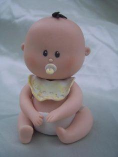 Fondant Baby Cake Topper                                                                                                                                                      More