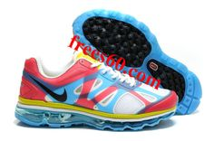 com for nikes OFF - Womens Nike Air Max 2012 White Blue Red Yellow Shoes