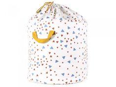 Large Blue Sparkles Toy Bag