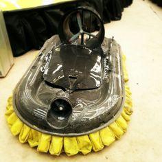 Hovercraft carbon fiber radiocomander handmade