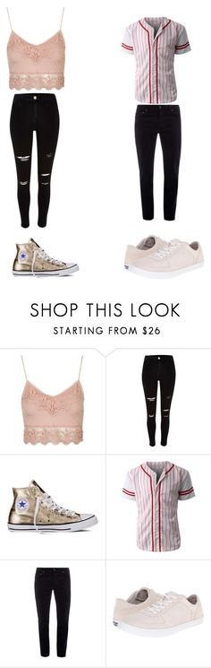 """""""Untitled #193"""" by kassidyrobinson on Polyvore featuring Topshop, River Island, Converse, LE3NO, Bottega Veneta and Cole Haan"""